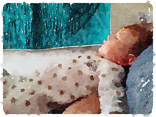 Finn in Waterlogue